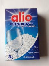 Muối rửa bát Alio 2kg – hàng Đức dành cho máy rửa chén bát.