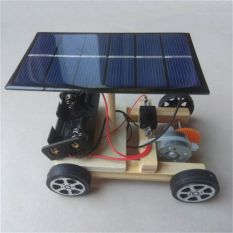 YE33040 for Chidren DIY Assembly Laboratory Equipment Student Science DIY Electronic Kit Toy Vehicles Science Educational Toys Assemble Solar Car Technology Inventions Technology Making Toys