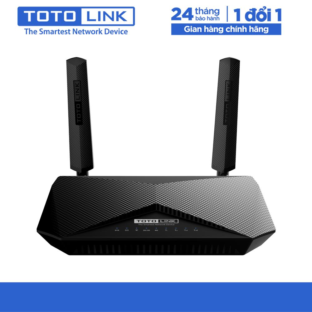 Bộ định tuyến không dây 4G LTE băng tần kép AC1200 – LR1200 – TOTOLINK – Hàng chính hãng