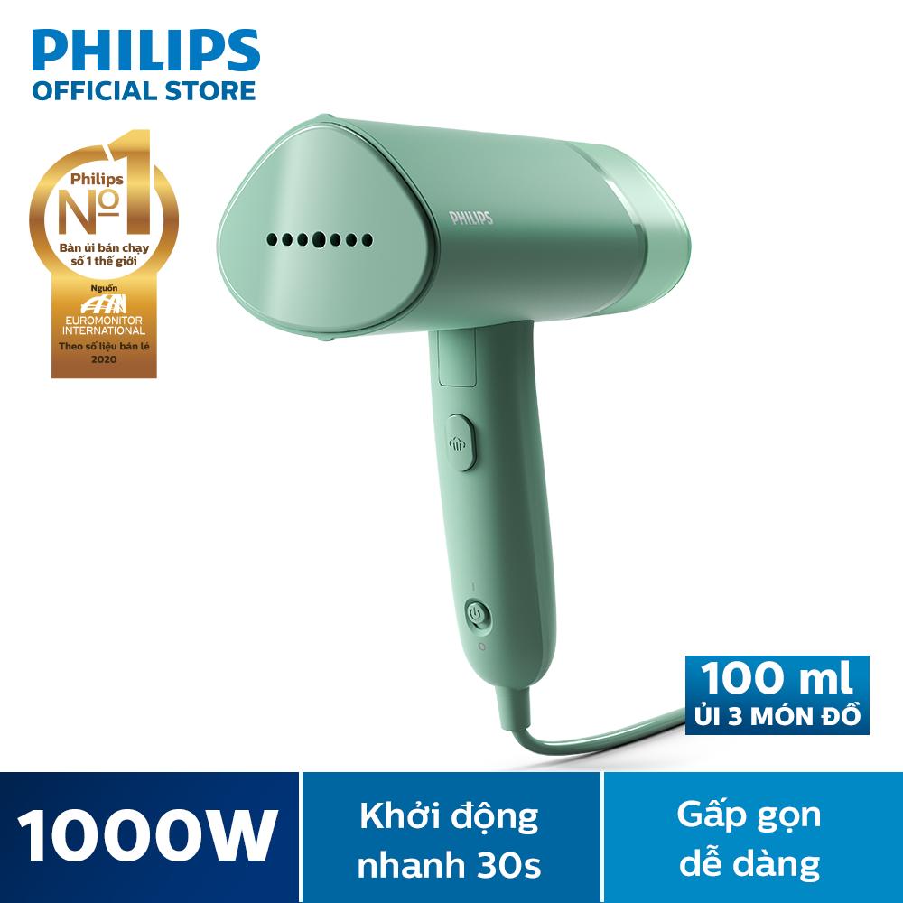 Bàn ủi hơi nước cầm tay Philips 3000 Series (STH3010)