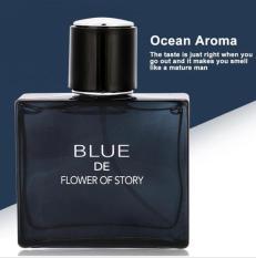 [HOT] Nước Hoa Nam Blue De Flower Of Story Mạnh Mẽ, nước hoa for men giá tốt, hương thơm quyến rũ đàn ông đích thực- Hieuclock