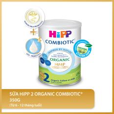 [FREESHIP] Sữa bột công thức HiPP 2 Organic Combiotic 350g