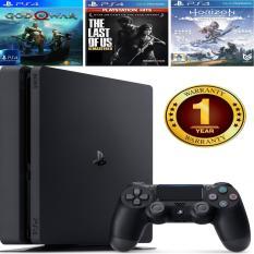 Combo Sony PS4 Slim CUH-2218B 1TB [Bảo Hành 1 Năm] + 3 Games Hot + Túi Đeo Thời Trang Playstation