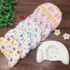 Gối cao su chống méo đầu cho bé trai và bé gái từ sơ sinh đến 2 tuổi