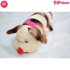 Gối ôm cho bé size lớn (60cm) hãng Pipobun – hình Con Sâu hãng Pipobun