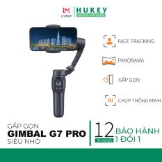 Gimbal chống rung HUKEY G7 Pro / G7 Pro New Edition siêu nhỏ gọn cho Smartphone, Gopro, Gitup, Sjcam, Eken – Đối thủ đáng gờm Zhiyun Smooth – Gimbal Stabilizer G7 Pro
