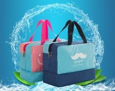 Túi đựng đồ dùng cá nhân, đidu lịch, đi bơi chống thấm nước Bonjour xanh