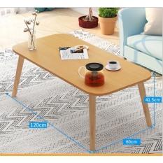 Bàn trà sofa mặt chữ nhật ( 80 x40 cm )