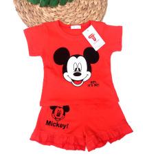 TANOSA Bộ bé gái tay ngắn mặc nhà MICKEY đồ bộ trẻ em mùa hè cho bé gái cộc tay thun cotton