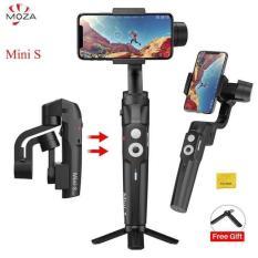 [ DEAR HÓT ] Tay cầm Gimbal chống rung cho điện thoại Moza Mini S dùng quay phim, chụp ảnh làm Vlog, gấp gọn, Pin sử dụng lên đến 8H, HÀNG NHẬP KHÂU – BH 12 tháng