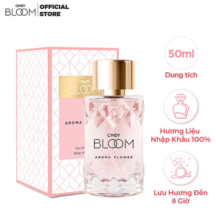 Nước Hoa Nữ Cindy Bloom Aroma Flower 50ml – Ngọt Ngào