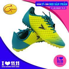 giày đá bóng giày đá banh giày thể thao giày dành cho sân cỏ nhân tạo Mitre MT 180204B màu vàng xanh dương