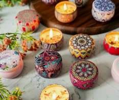 Nến Thơm Hoa Khô Thiên Nhiên Hương Dịu Nhẹ và Quyến Rũ – Nến thơm hoa khô thiên nhiên-Ly nến thơm-Nến thơm cao cấp bằng sáp