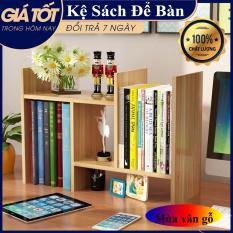 Kệ sách gỗ mini, giá để sách, kệ trang trí bàn làm việc mini, kệ sách để bàn làm việc lắp ghép đa năng, Kệ sách đa năng, Kệ đựng tài liệu văn phòng