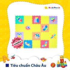 [COMBO] Thảm xốp cho bé – côn trùng + đơn màu (20 miếng, tổng kích thước 1.2mx1.5m) Smile Puzzle – KHÔNG MÙI CHUẨN CHÂU ÂU