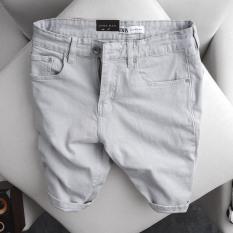 (CÓ VIDEO) Quần short jean nam trơn ZR co dãn cực tốt vải dày mẫu mới nhất nhiều màu cao cấp
