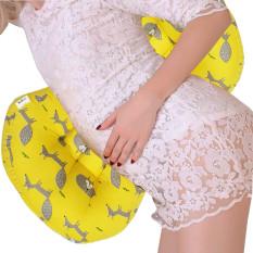 Gối bà bầu đỡ bụng giảm dau lưng làm gối chặn sơ sinh