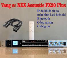 [Tặng cặp dây Canon] Vang cơ NEX Acoustic FX20 Plus, vang cơ Bluetooth chống hú NEX Acoustic FX20 Plus, Vang cơ NEX FX20 Plus
