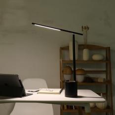 Đèn LED đọc sách, đèn làm việc, đèn học chống cận, đèn ngủ thông thông minh, tích điện 4000mA GX, 3 chế độ ánh sáng, thời gian pin chờ lên đến 6 tháng (pin đã sạc còn lưu trong đèn) (đen)