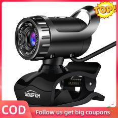 Webcam A1 USB 2.0 480P, Camera Web Cam 360 Độ Cho PC, Máy Tính Xách Tay