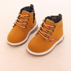 Giày cao cổ boot kéo khóa cho trẻ em bé trai bé gái hàng đẹp êm chân giày bốt trẻ em