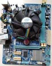 Combo main H61 Gigabyte CPU i3 và fan zin +chắn main.