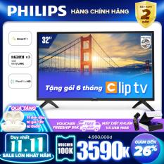 Smart Tivi Philips Led HD 32 inch KẾT NỐI INTERNET 32PHT5853S/74 – Tặng USB 16G cực chất – TV giá rẻ chất lượng..