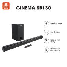 Loa Bluetooth JBL CINEMA SB130 | Thiết kế tối giản | Âm thanh Dolby | Nhiều chuẩn kết nối | Công suất 110W | TRẢ GÓP 0% | HÀNG CHÍNH HÃNG