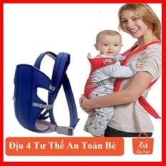 Địu 4 tư thế cho bé thiết kế đệm lưới an toàn bảo vệ cổ và đầu bé, cam kết hàng đúng mô tả, chất lượng đảm bảo an toàn đến sức khỏe người sử dụng, đa dạng mẫu mã
