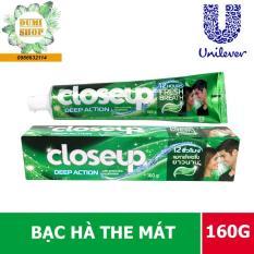 Kem đánh răng Closeup Bạc Hà the mát 160g