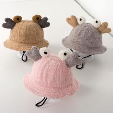 Mũ lông cừu hình con cua cho bé siêu xinh(1-4 tuổi)
