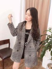 Áo dạ nữ dáng dài