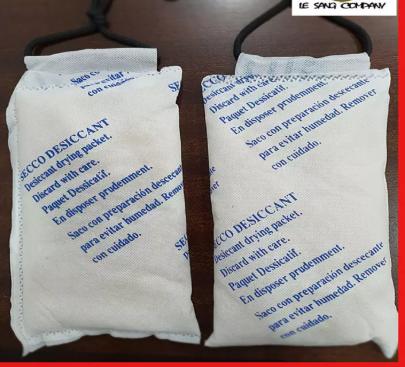 1 gói hút ẩm Clay Desiccant – Loại 500 gram/gói (Đất sét hoạt tính) – Lê Sang 151