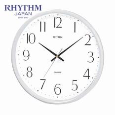 Đồng hồ treo tường Rhythm CMG817NR03 Basic Wall Clocks (Trắng)