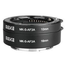 Tube chụp Macro Meike MK-S-AF3A Auto Focus Extension Tube 10mm 16mm Cho Sony E mount
