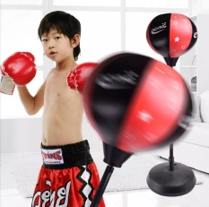 Bộ đồ chơi đấm bốc cho bé. Kích thước 120 x 33 x 33cm. Rèn luyện sức khỏe, tập phản xạ, tập cơ tay ngay tại nhà