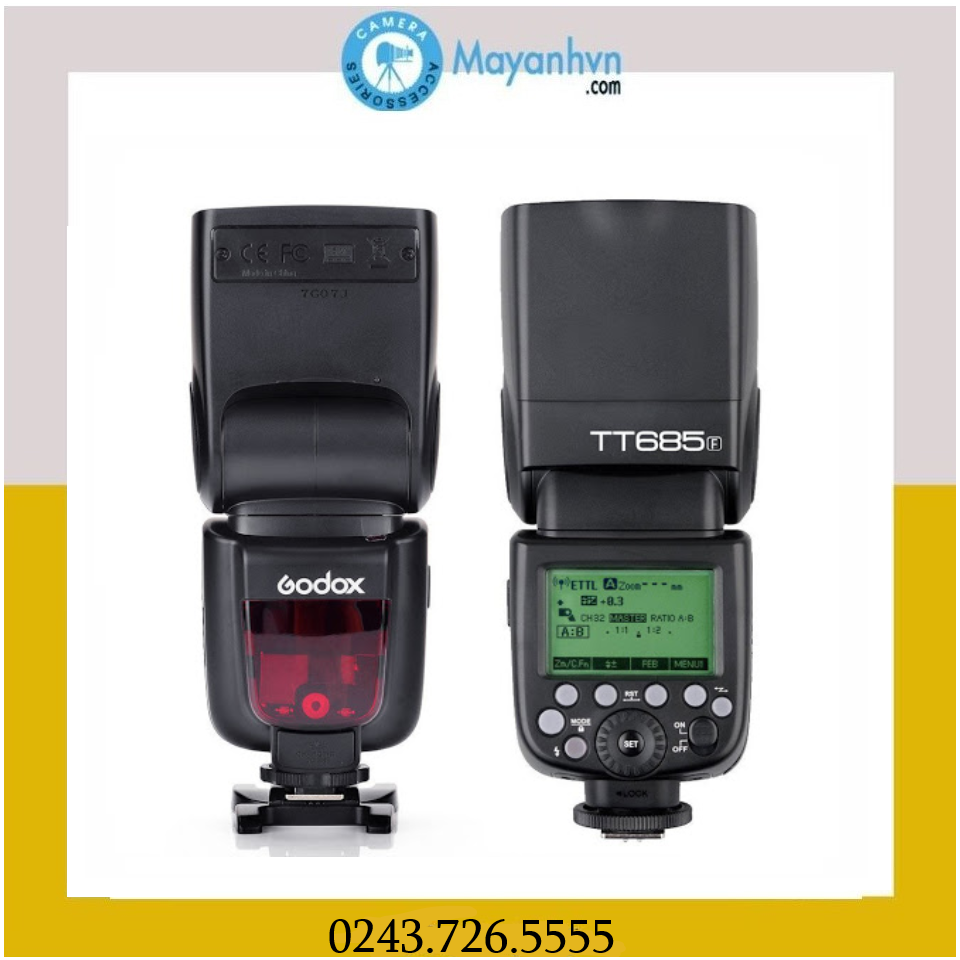 Flash Godox TT685F for Fujifilm( Mới 100%)