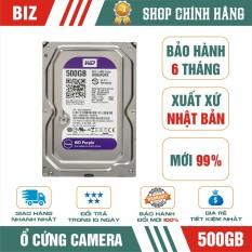 Ổ cứng camera Hdd 500Gb Wd Purple – bảo hành 6 tháng 1 đổi 1!!