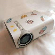 Máy Chiếu Phim Mini LED Độ Phân Giải 1080p HD YG530 Cho Điện Thoại Laptop Xem Phim Tại Nhà