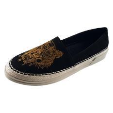 Giày Slip On Nữ Giày Lười Nữ Dáng Đẹp Xinh Xắn Evelynv GB3313 (Đen)