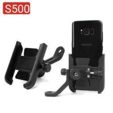 Giá đỡ điện thoại gắn xe máy chất liệu hợp kim S500 chắc chắn góc xoay cực rộng dành cho điện thoại 4 – 7inch