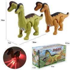 Đồ chơi khủng long 2 đầu cho bé – biết đi – phát sáng – biết kêu