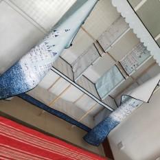 tủ vải khung gỗ b3 buồng hàng chuẩn loại 1