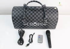 Loa Crown TTD-601, hát Karaoke cực hay