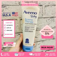Kem dưỡng chàm Aveeno Baby Eczema Therapy Moisturizing Cream ( 206g )