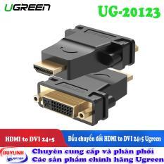 Đầu chuyển đổi HDMI to DVI 24+5 Ugreen