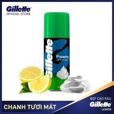 Bọt cạo râu Gillette chai Hương Chanh 175G