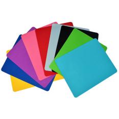 Lót chuột / Bàn di chuột chất liệu cao su mềm cao cấp, nhiều màu sắc, kích thước 22x18cm