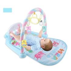 Thảm nằm Cá Heo có đèn và nhạc cho bé nằm chơi