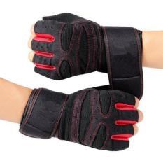 Găng tay tập gym RS917 có đai quấn dài 31cm